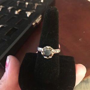 Silpada dark gem ring